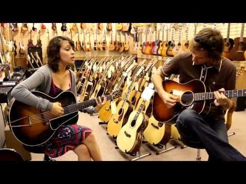 Gaby Moreno at Norman's Rare Guitars