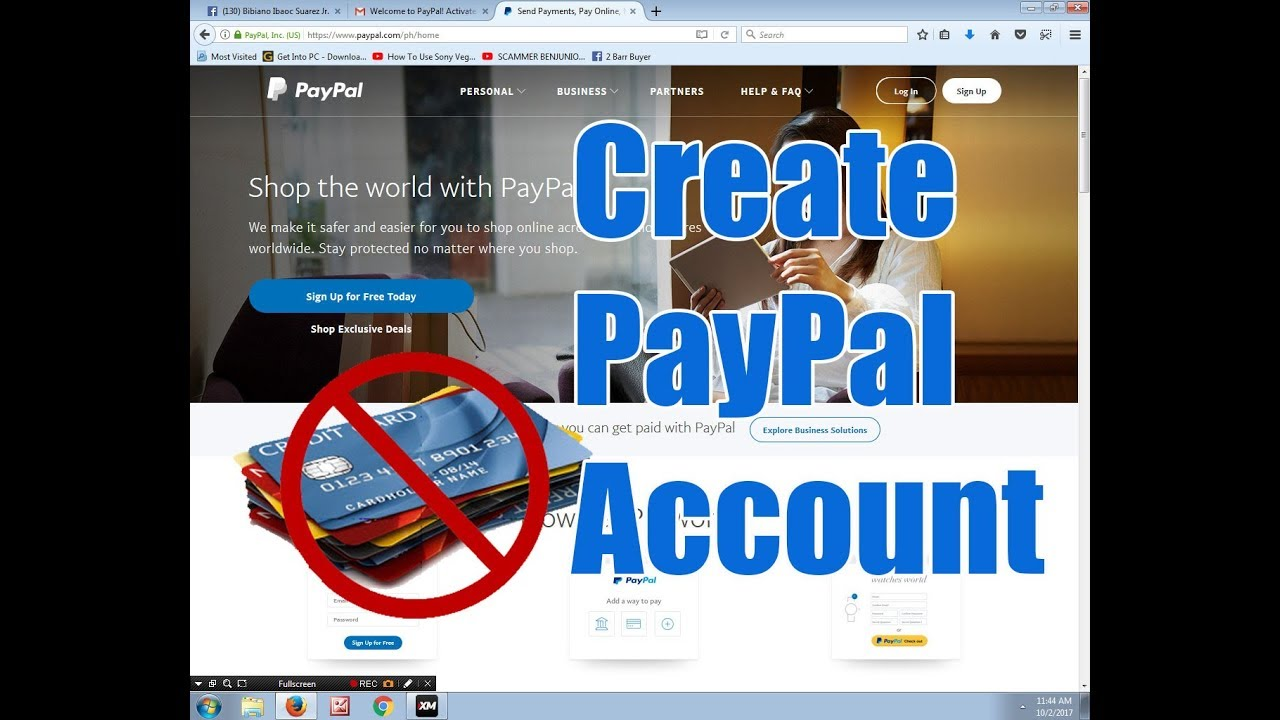how to pay paypal without credit card philippines