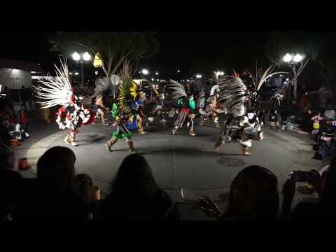 Day of the Dead Aztec Dancers Full HD