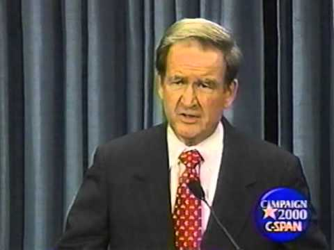 Pat Buchanan on Foreign Policy @ Cato Institute 11/22/99