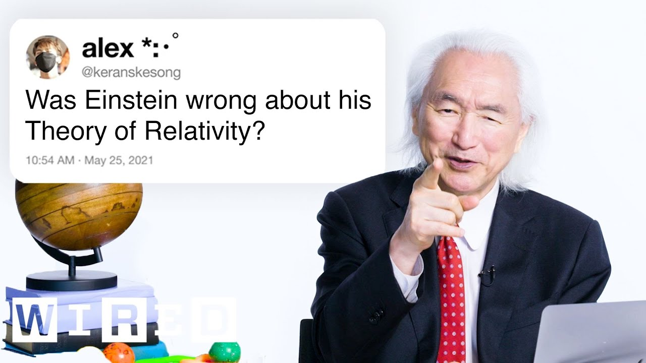 Dr. Michio Kaku Answers Physics Questions From Twitter | Tech Support | WIRED