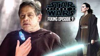Star Wars! Disney & Lucasfilm Fixing Episode 9 & More! Good Or Bad