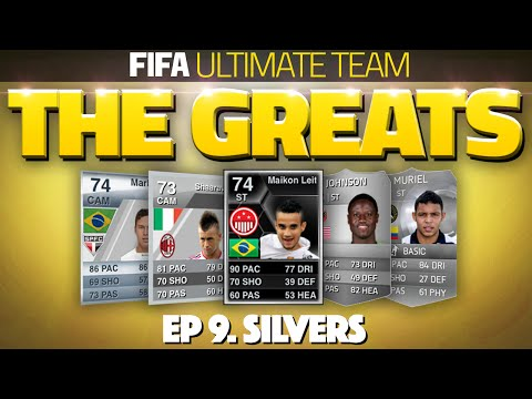 IF MAIKON LIETE! THE GREATS! #9 - BEST EVER SILVER PLAYERS! (FUT 11,12,13,14 & 15)
