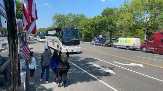 Присоединились автобусы