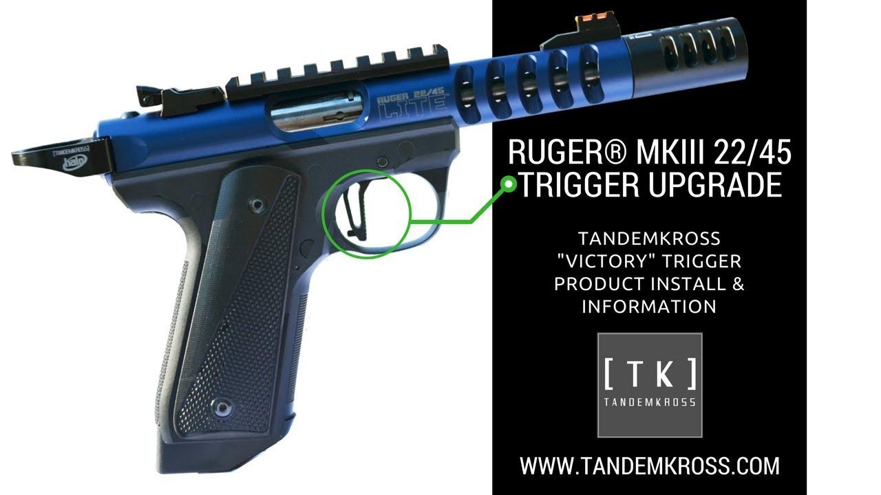 Victory Trigger Ruger® MKIII™ & MKIV™ 22/45™