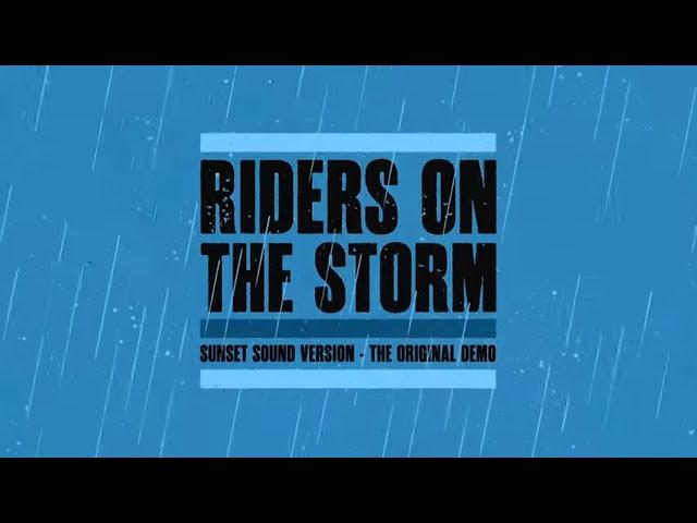 The Doors - Riders on the Storm (Sunset Sound Version - Original Demo)
