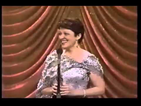 Linda Lavin wins 1987 Tony Award for Best Actress in a Play