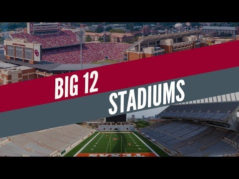College Football Stadiums - Big 12 Conference