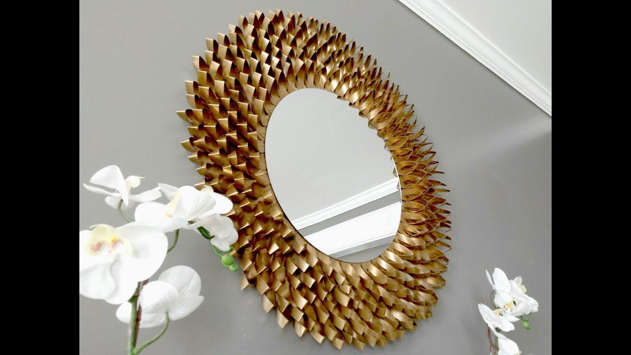Espejo de papel cardboard paper mirror youtube - Espejo de papel ...