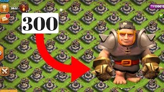 300 Max Giants Vs Full X Bow base | who wins | Music Remix | Clash Of Clans