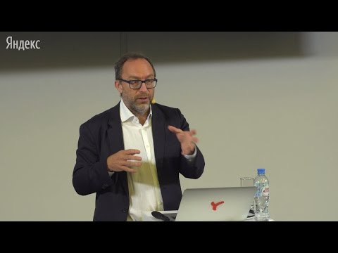Role of free knowledge in the world, Jimmy Wales