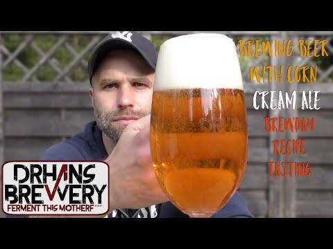 Brewing With Corn - Cream Ale Grain To Glass