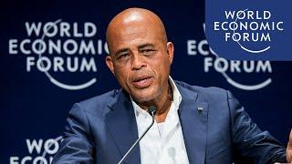 Davos 2012 - Michel Martelly - Building a Better Haiti