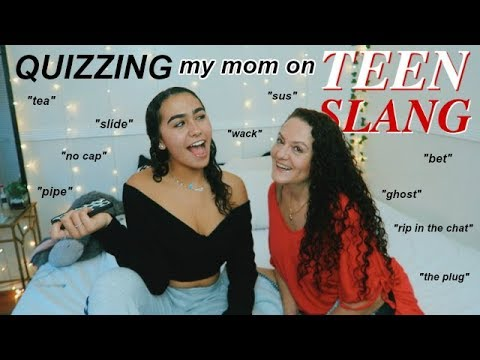 QUIZZING MY MOM ON TEEN SLANG 2019!!