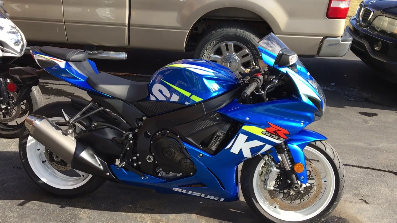 2015 Gsxr 600 Moto Gp Edition Blue with White Rims - YouTube