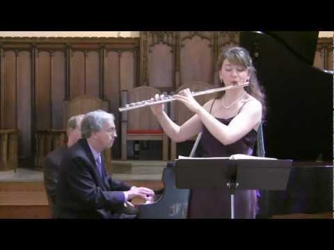 "Schubert, ""Theme and Variations on Trockne Blumen"" - Mimi Stillman, flute + Charles Abramovic, piano"