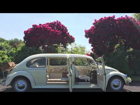 1963 VW Stretched Beetle Yorkshire Wedding Car At All Luv'Dub
