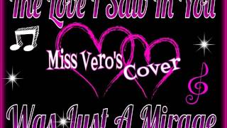 The Love I Saw In You Was Just A Mirage Cover