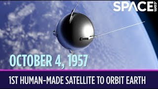 OTD in Space - Oct. 4: Sputnik 1 Becomes 1st Human-Made Satellite to Orbit the Earth