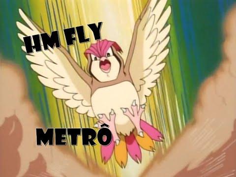 Pokemon Revolution Online  #Hm Fly #Metrô