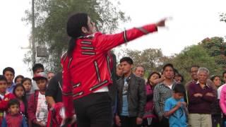 michael jackson peruano jhon palacios beat it