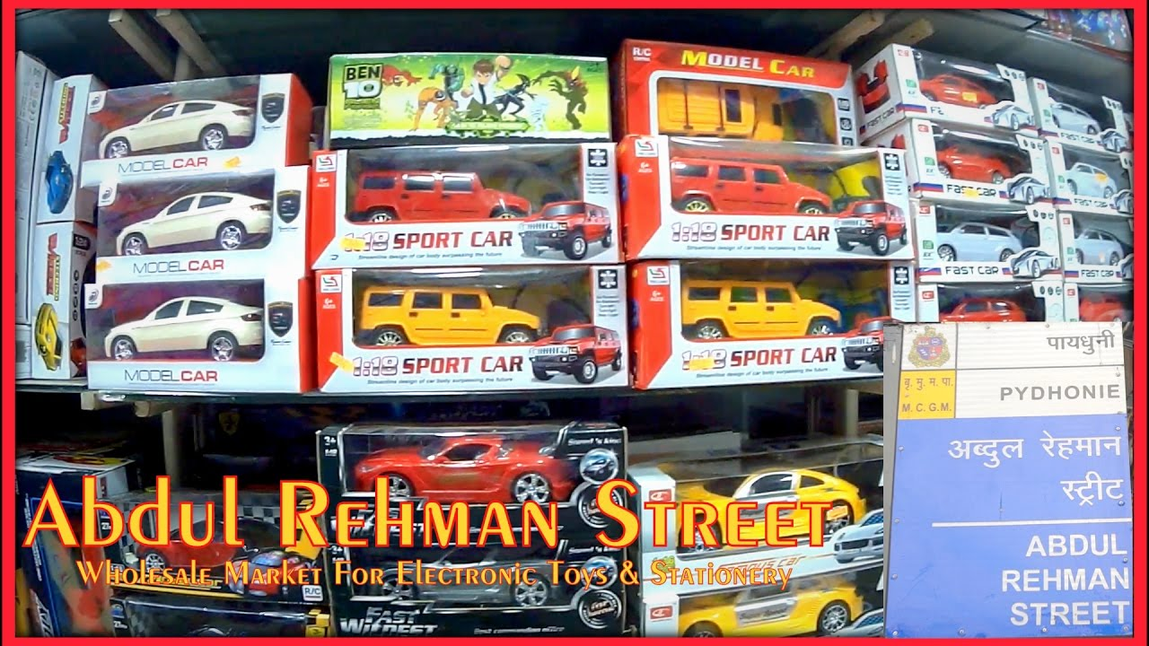 Abdul rehman street wholesale market for electronic toys for Buy house online