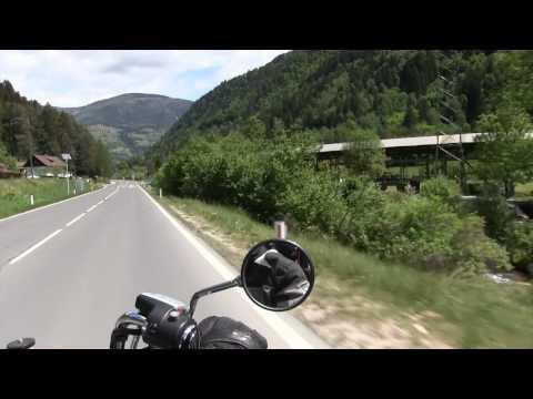 A short Motor Cycle Tour in Carinthia/AUSTRIA
