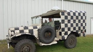 1944 Dodge Weapons Carrier Engine Run