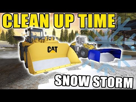 SNOW STORM HITS! | SNOW EQUIPMENT | CLEARING GOLD CREST | FARMING SIMULATOR 2017