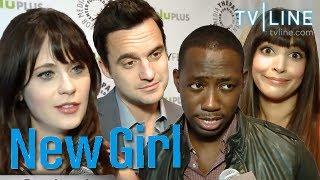 NEW GIRL Season 2 Scoop : Zooey Deschanel, Jake Johnson, Lamorne Morris, Hannah Simone - ENTV