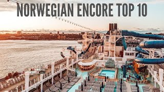 10 Things I Love About the Norwegian Encore