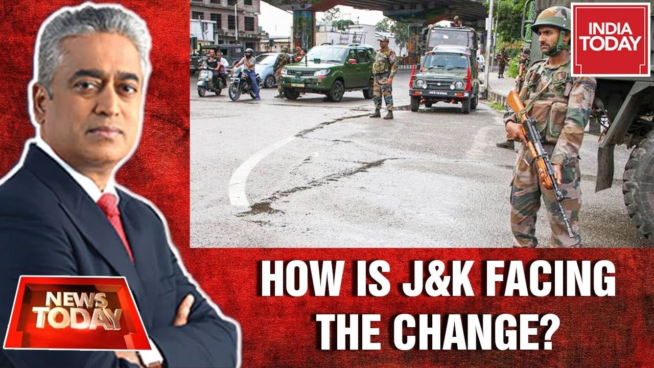 Download India Today Ground Report Of Kashmir After Article 370 Revoked | News Today With Rajdeep