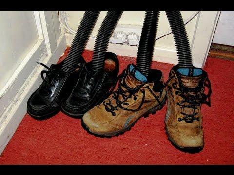 Как быстро высушить обувь  если она промокла полезные советы
