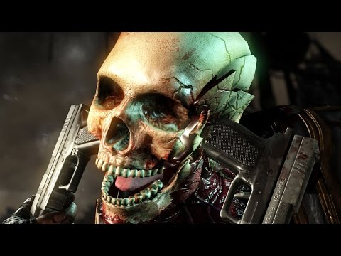 Mortal Kombat X: All Fatalities X-Rays Faction Kills and Brutalities in p fps