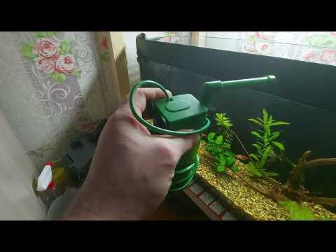 AQUAEL PAT mini после модернизации и немного о фильтрации в моих аквариумах.