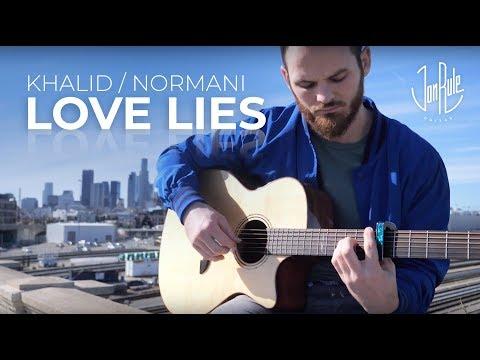 Love Lies - Khalid/Normani - Acoustic Fingerstyle Guitar Cover