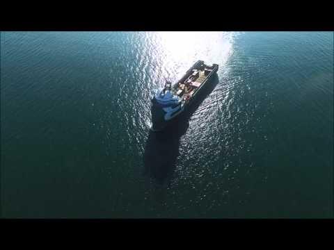 Aberdeen Harbour Supply Vessels Sail Away.