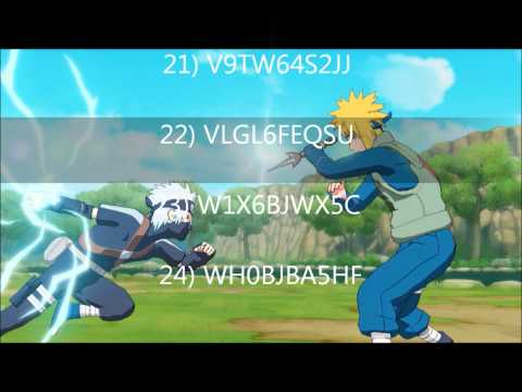 Naruto Shippuden Ultimate Ninja Storm Generations Codes.wmv