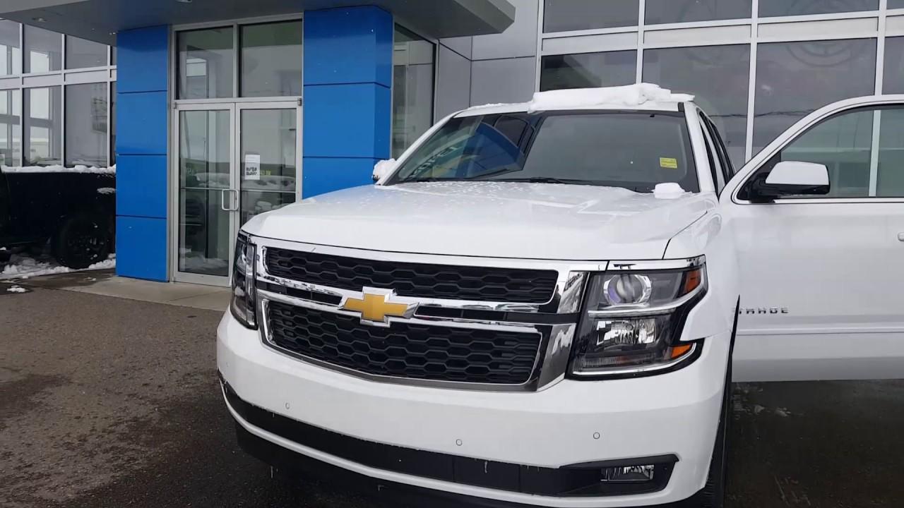 2017 Chevrolet Tahoe Lt White