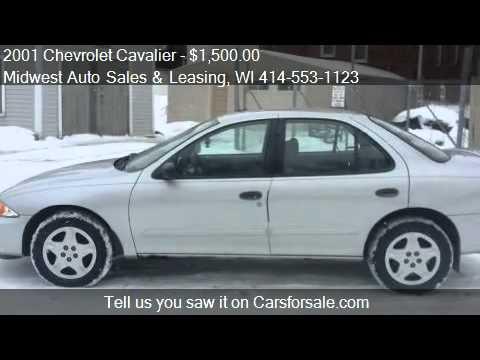 2001 Chevrolet Cavalier LS sedan for sale in Milwaukee, WI 5