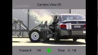 Honda Accord Sedan | 2013 | Side Crash Test | NHTSA | CrashNet1