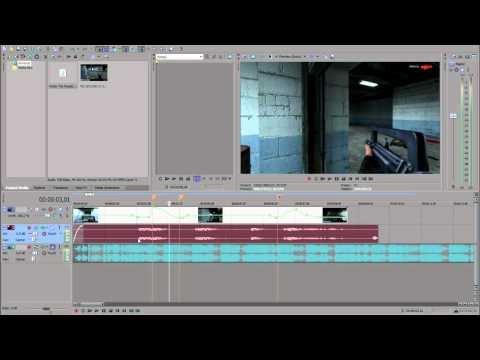 Как сделать видео в Sony Vegas