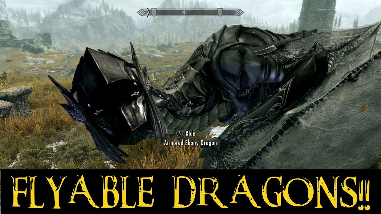 Nexus Skyrim Dragon Mount