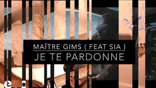 Maître Gims ( feat Sia ) - Je te pardonne - Electric Guitar Cover avec Tab