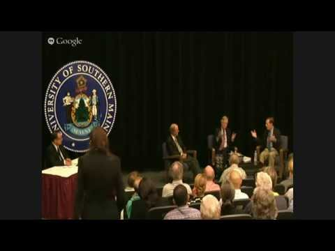 A Conversation with Senator Angus King, former Senator George Mitchell, and former Ambassador Nic...