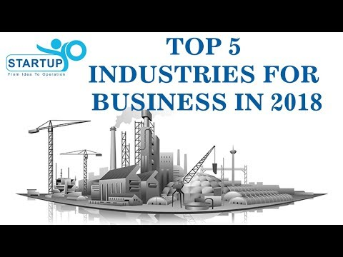 Top 5 Industries for Business in 2018 - StartupYo