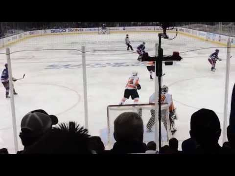 New York Rangers GOAL Playoffs Game 1 vs Flyers at MSG 4/17/14