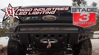 Stage 3 Motorsports Rigid Industries Lighting Overview