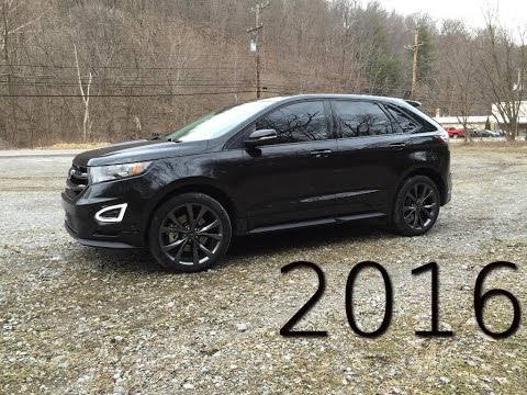2016 Ford Edge Sport Review And Road Test - 2.7L EcoBoost Twin Turbo