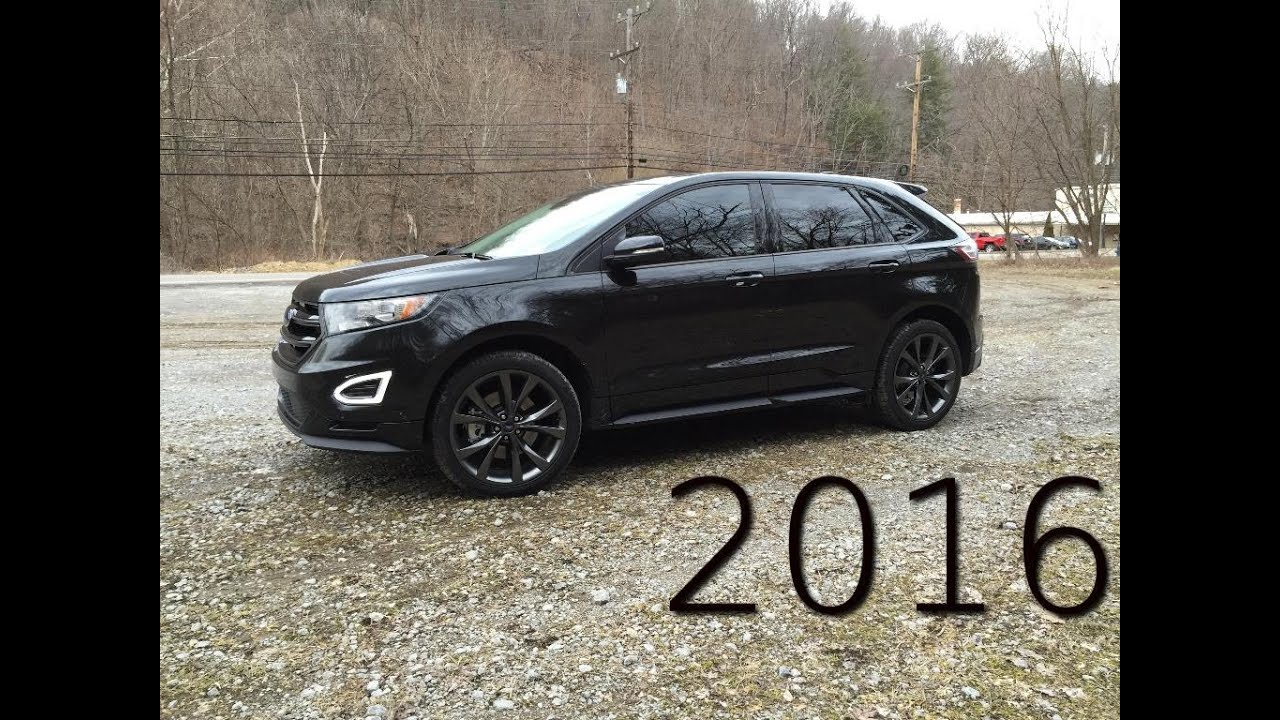 2016 ford edge sport review and road test 2 7l ecoboost twin turbo